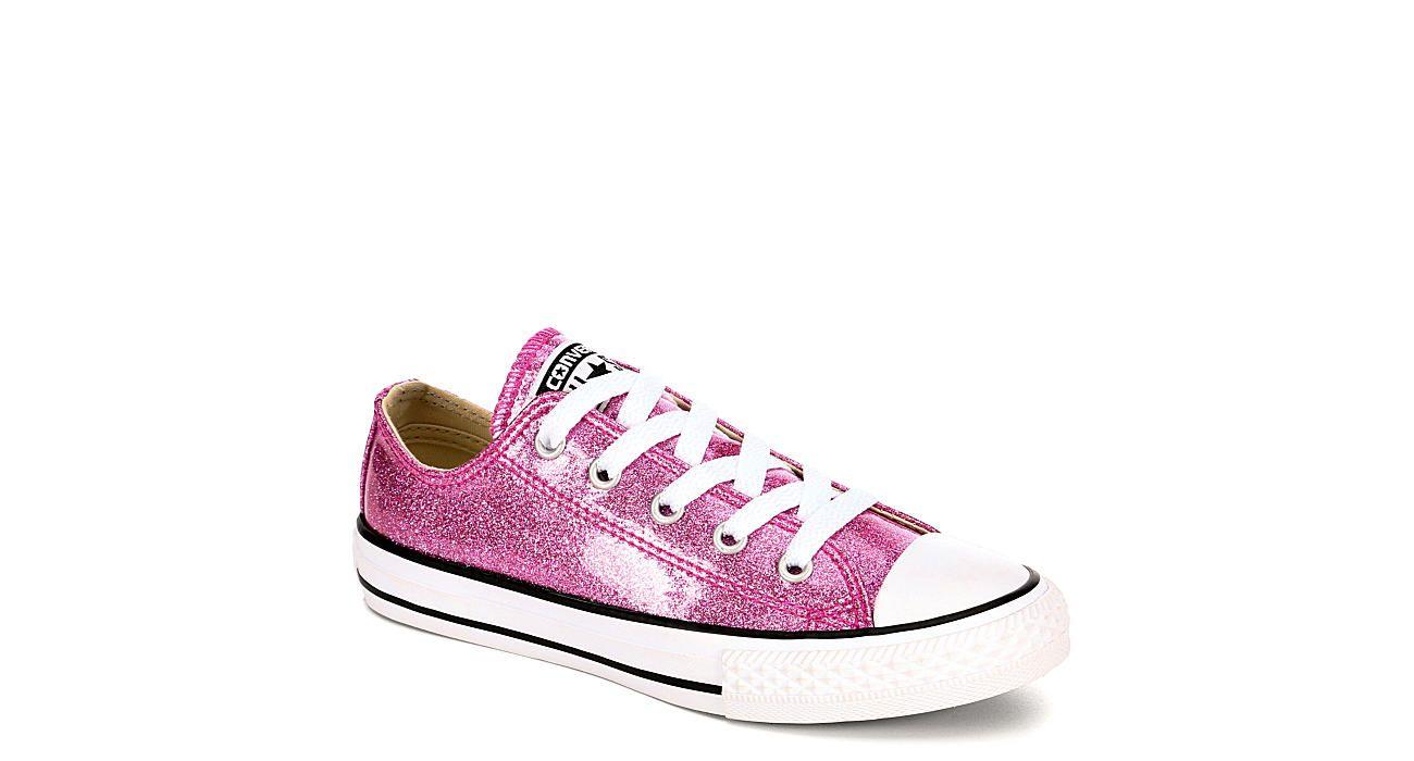Pink Glitter Converse Girls' Chuck