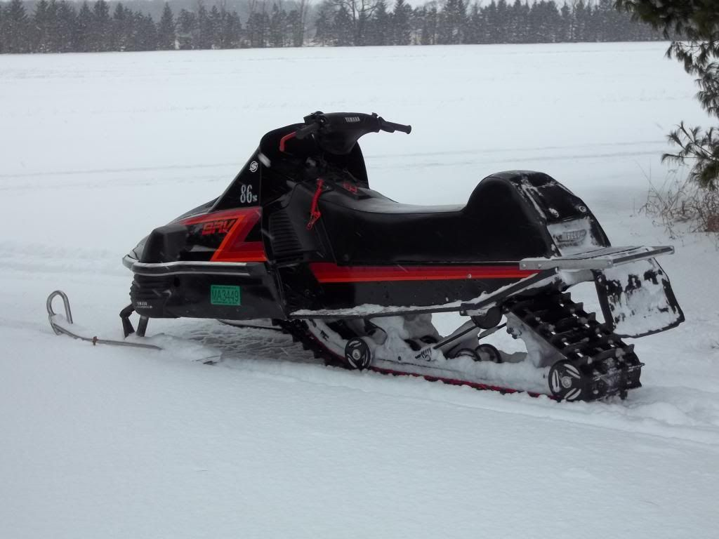 my 86 mods done | SRV540 Message Board | snowmobile | Snow