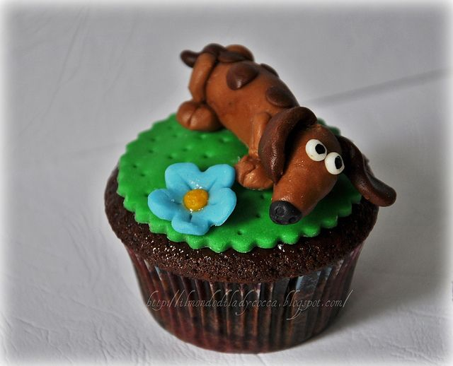 Dachshund Cupcake Dachshund Cake Themed Cakes Dachshund