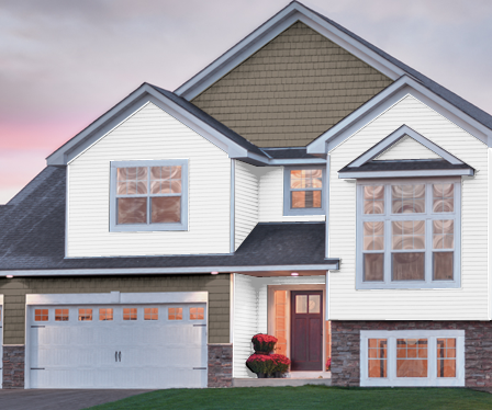 GP Compass Vinyl Siding. We're very excited to offer this great vinyl siding! -- via www.gpvinylsiding.com