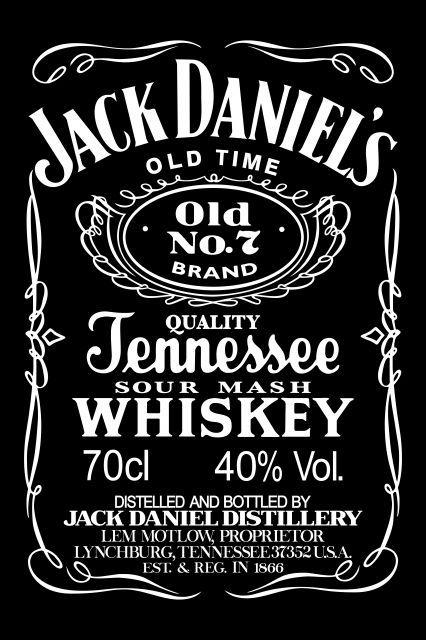 Jack Daniels Jack Daniels Label Jack Daniels Label Templates