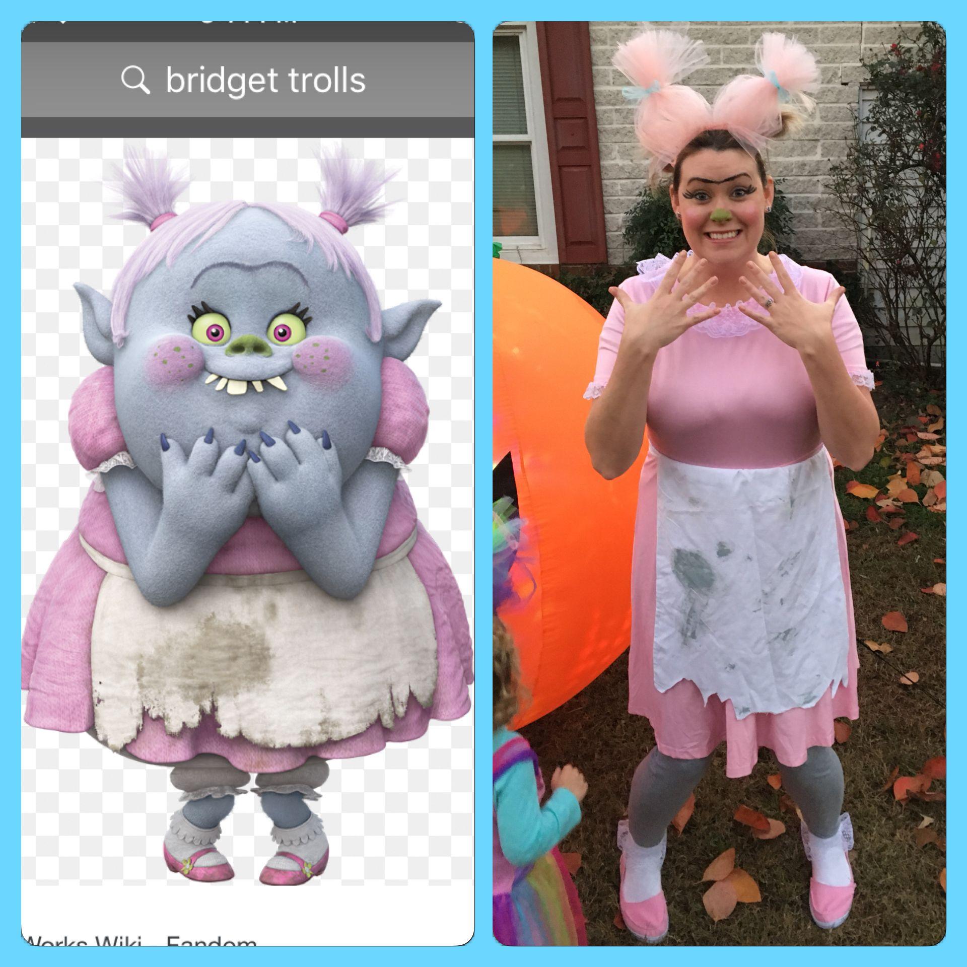 Trolls Bridget Costume