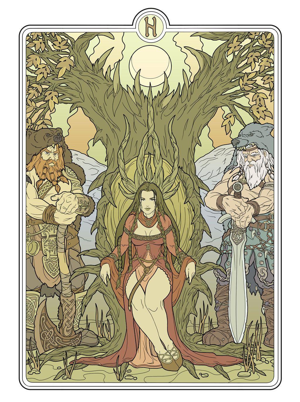 Helheim goddess flats by deviantAshtareth on deviantART | Seidhr ...