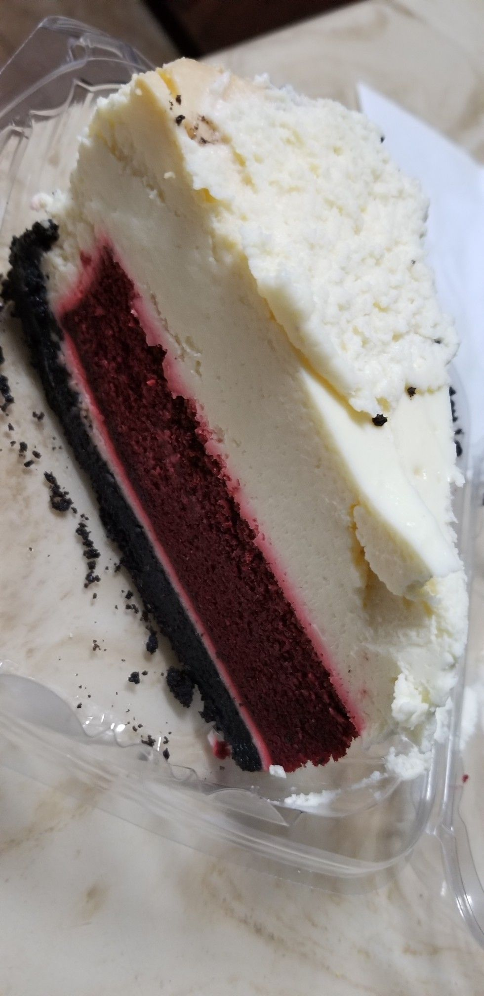 To Die For Red Velvet Cheesecake Courtesy Of Pappas Bbq Food Red Velvet Cheesecake Cheesecake