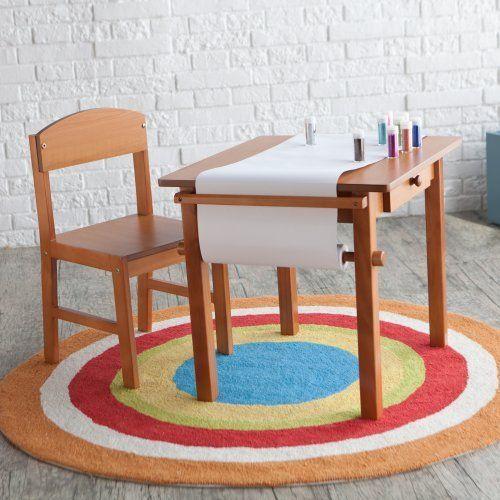 Guidecraft Art Table and Chair Set - Honey | Set honey