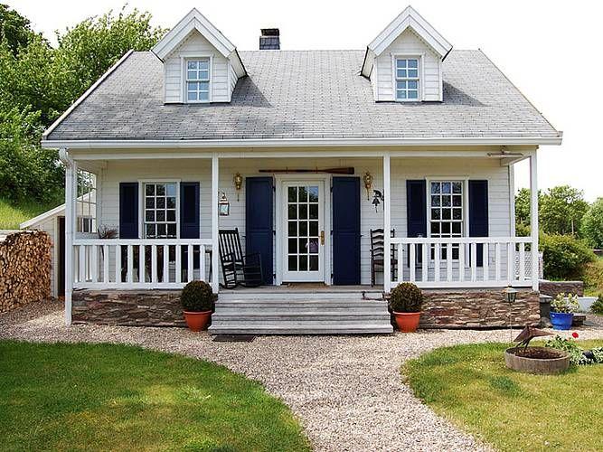 Small Modern Farmhouse Amerikanische häuser, Haus, Haus