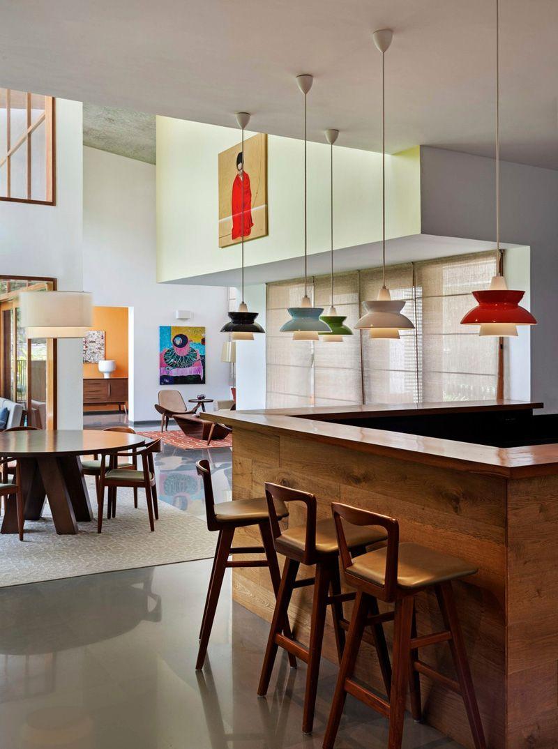 Una cocina moderna | Camioneta | Pinterest | Open plan, Apartment ...