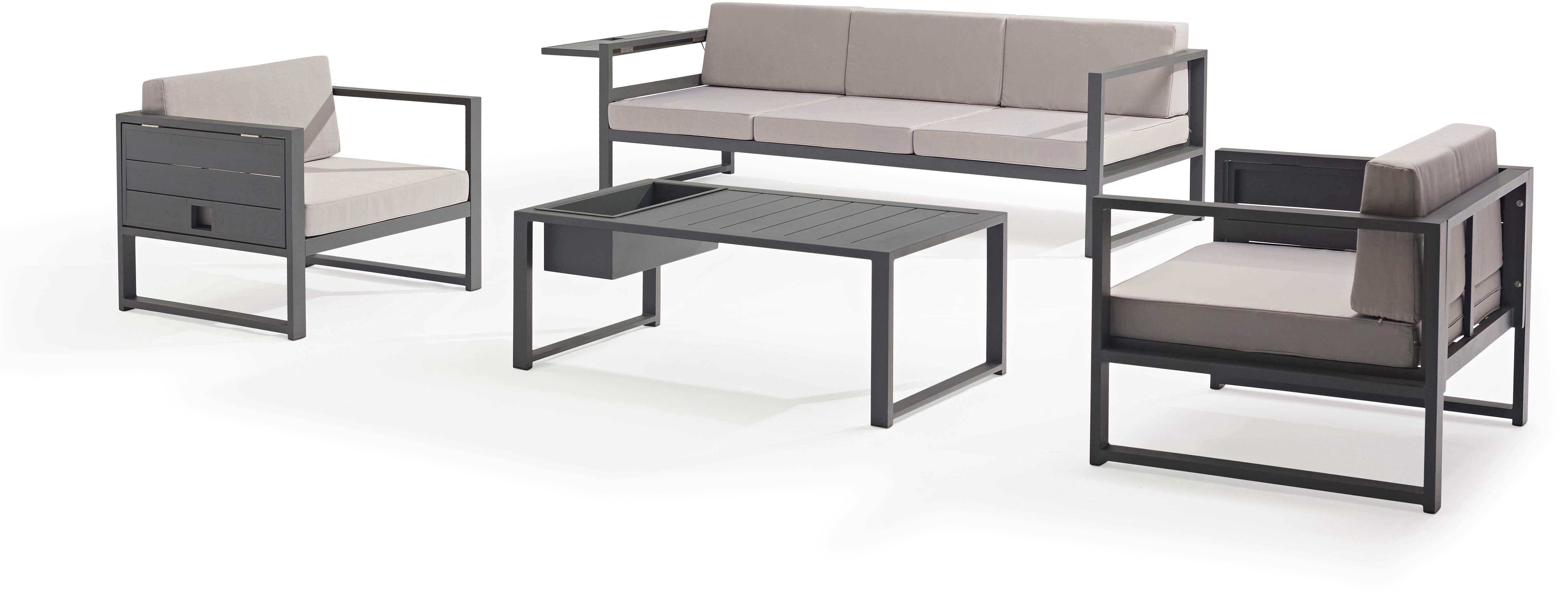 Salon de jardin SUN aluminium | Delorm | | Outdoor ...