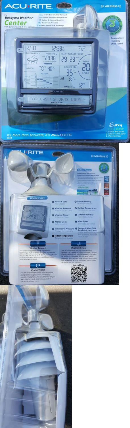 Outdoor Thermometers 75601: New Acurite Wireless Digital Weather Station  With Scrolling Ticker  U003e BUY