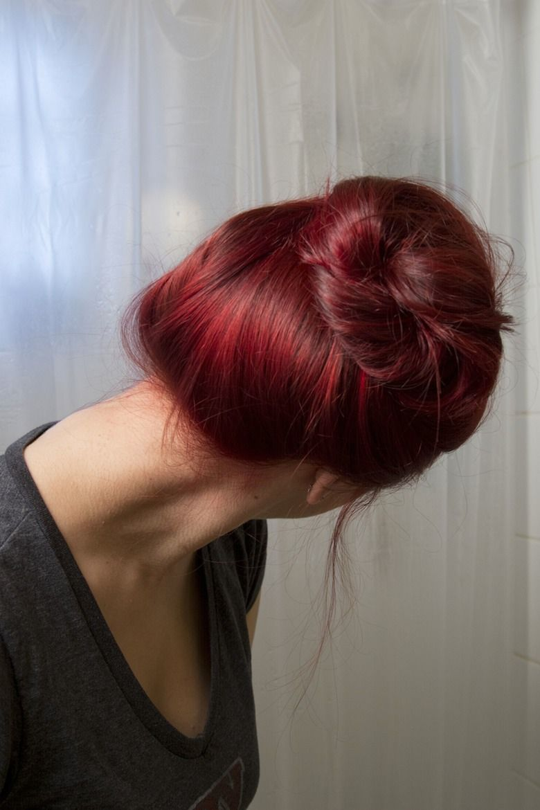 How To Dye Your Brown Hair Red Sans Bleach Brown Hair Dye Dyed