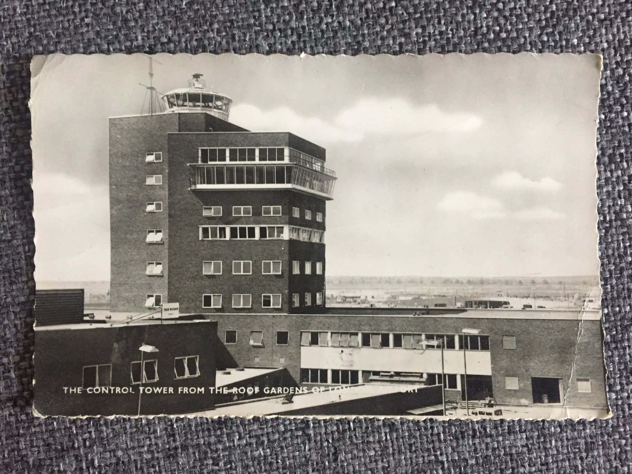 London Heathrow airport, 1960s, Air traffic control tower
