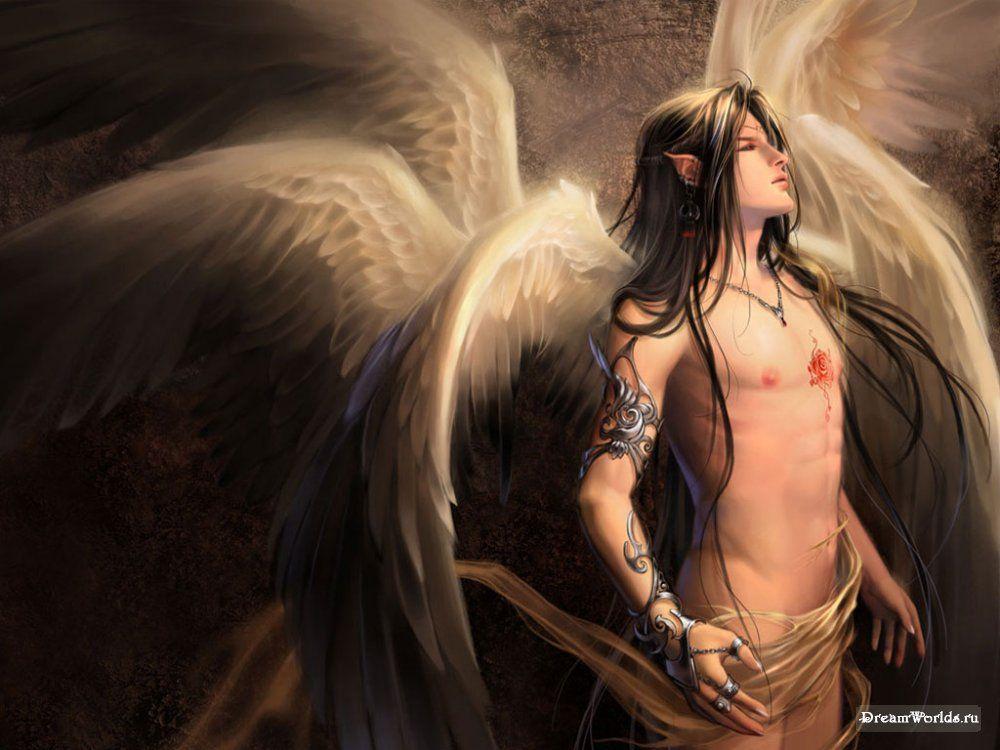 мастер-классы картинка фэнтези ангел мужчина фасада частного дома