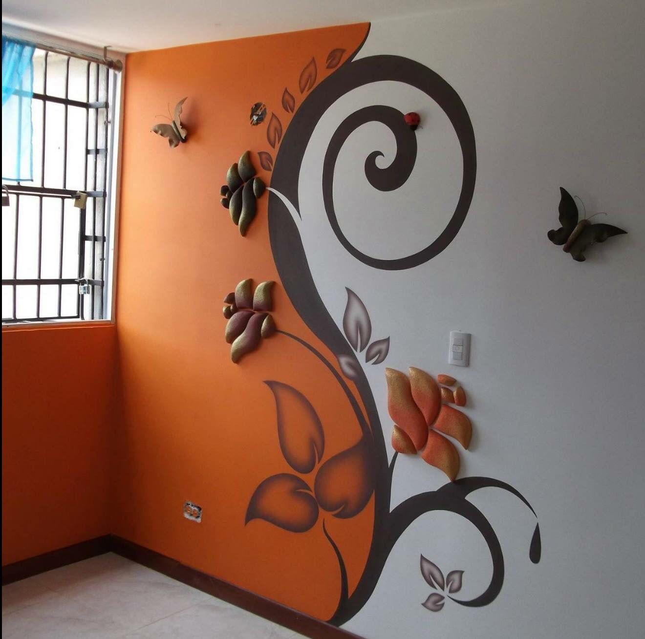 Pin De Susy Armas En Depa Pinterest Dise O Para El Hogar  ~ Pintura Decorativa Paredes Interiores