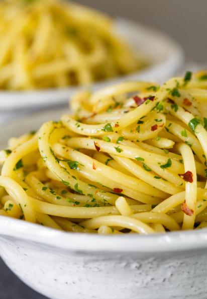 Resep Spaghetti Aglio Olio Merica Resep Masakan Resep Makanan