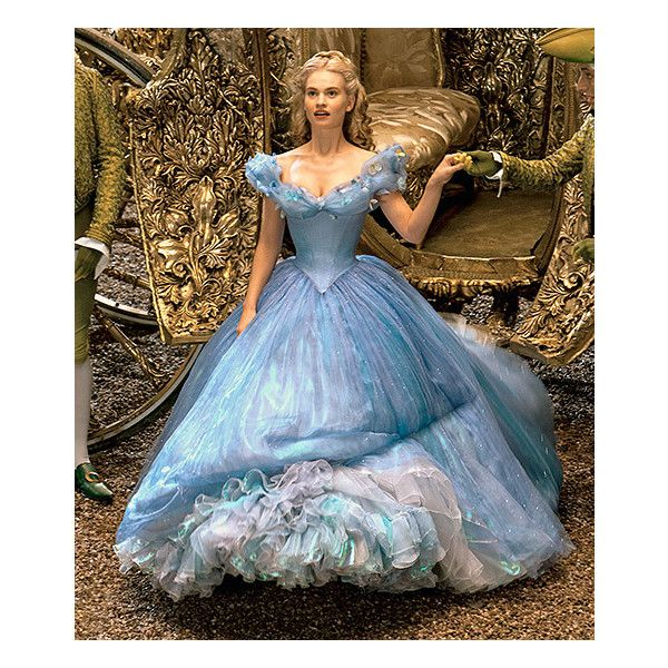 Cinderella's Dresses for Lily James: Details from the ...