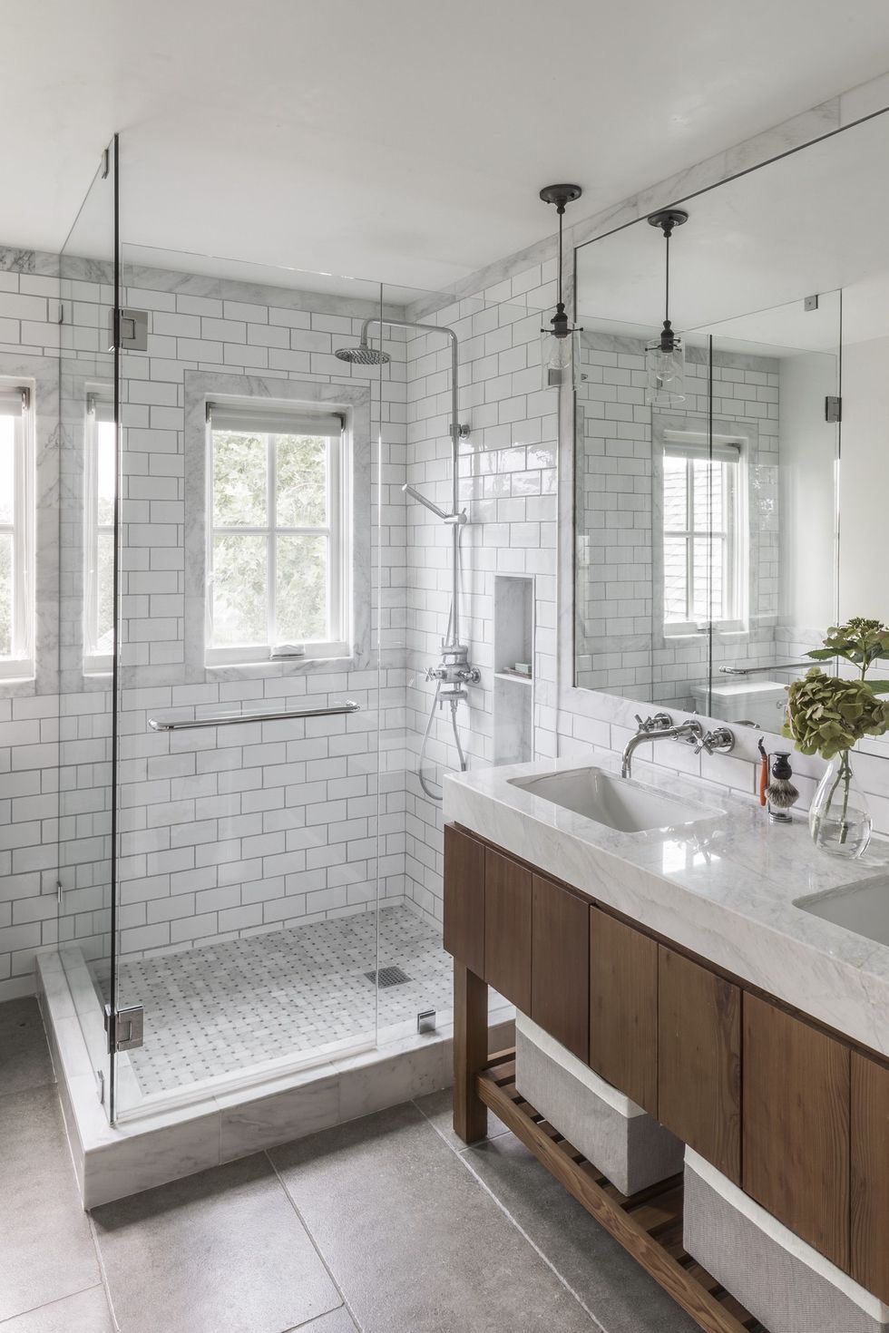 These Walk In Shower Ideas Will Help You Find Your Zen In 2020 Bathroom Shower Design Bathrooms Remodel Bathroom Renovations