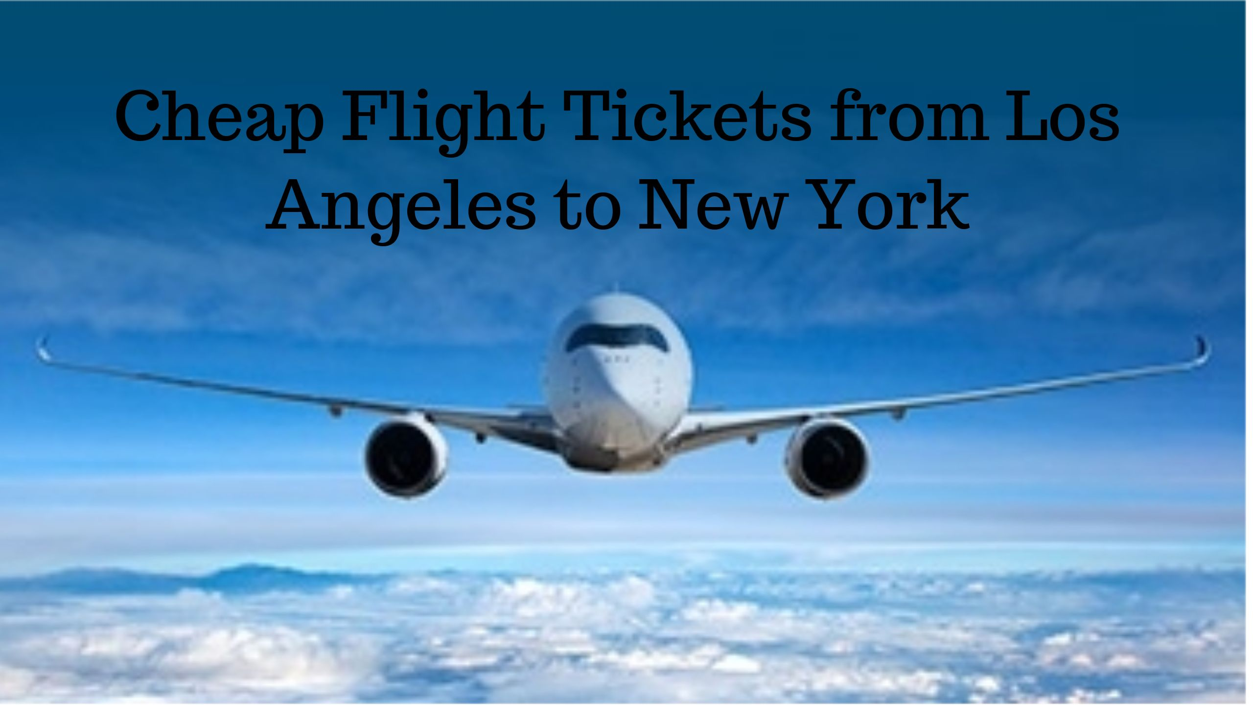 Cheap Flight Deals From Lax - United Airlines and Travelling