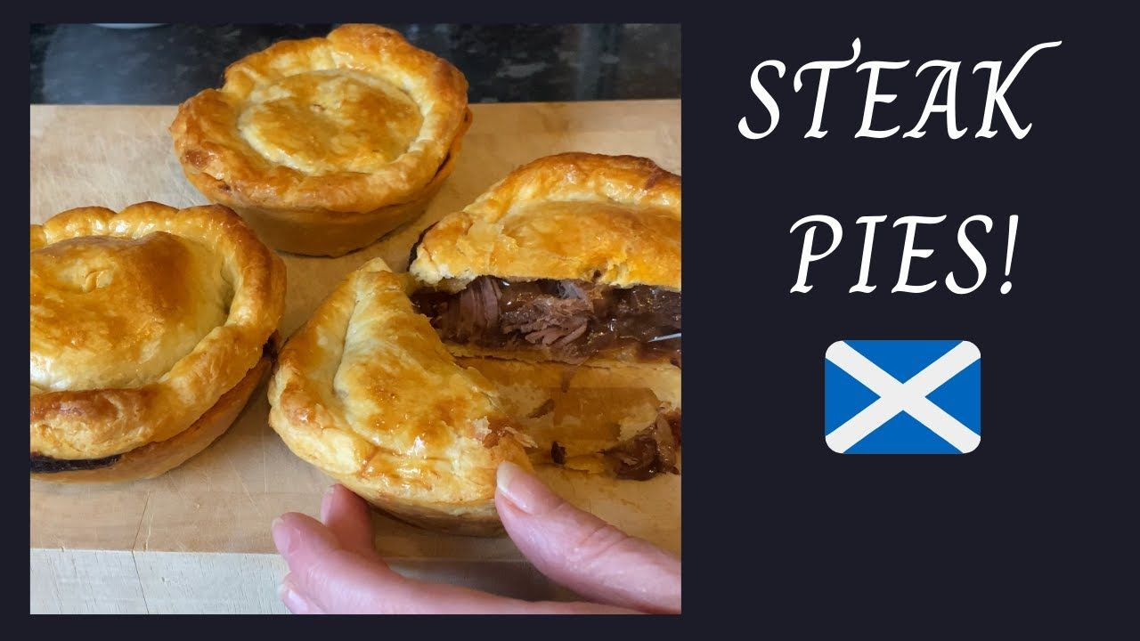Scottish Steak pies | Easy meat pie recipe :) - YouTube in ...