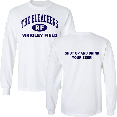 Property of Wrigley Field Athletic Dept T-Shirt