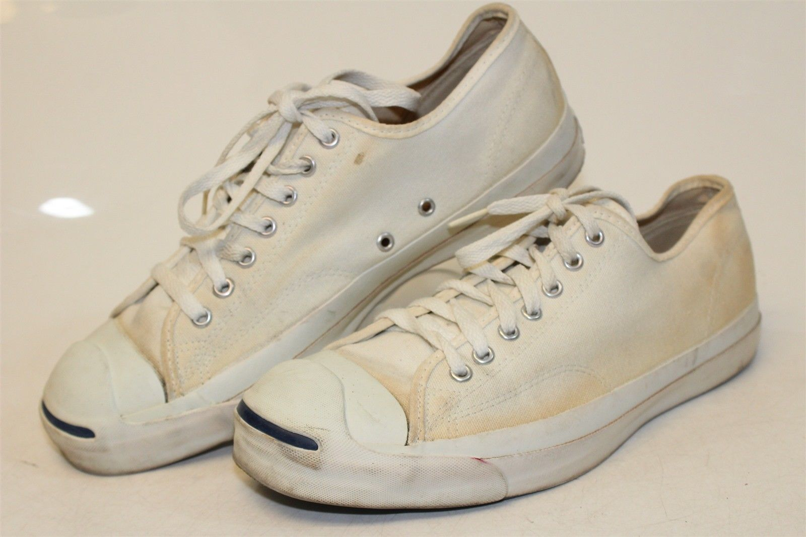 2292c077d0a1 Vintage Converse Jack Purcell USA Made Men s 11 Canvas Low Tops Sneakers  Shoes kk