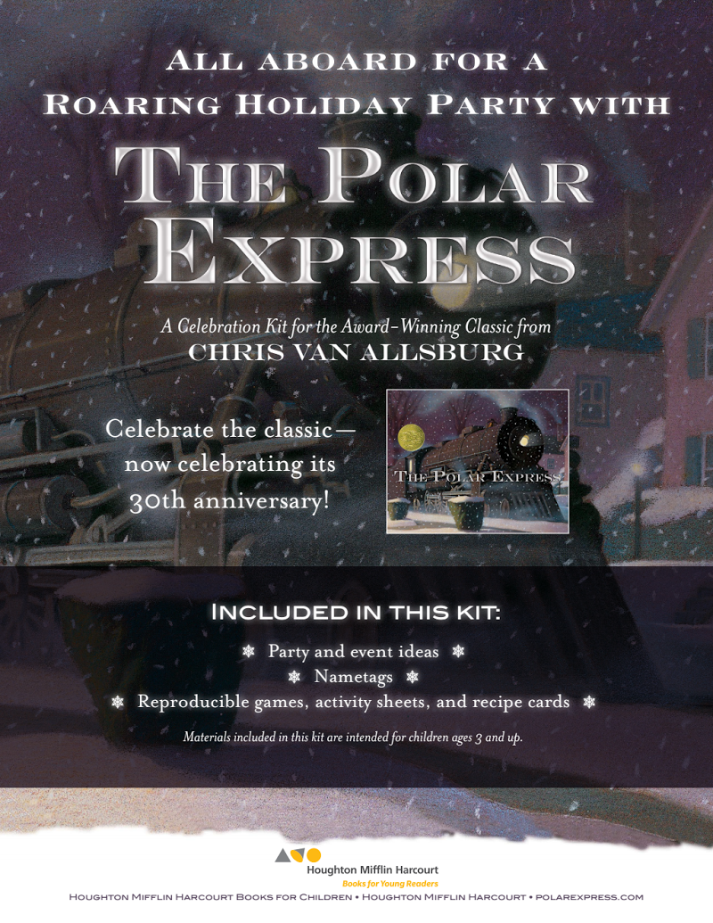 VanAllsburg_PolarExpress.pdf Polar express party, Polar