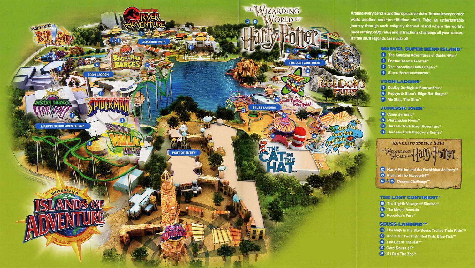 Universal Studio Florida Vs Universal S Island Of Adventure
