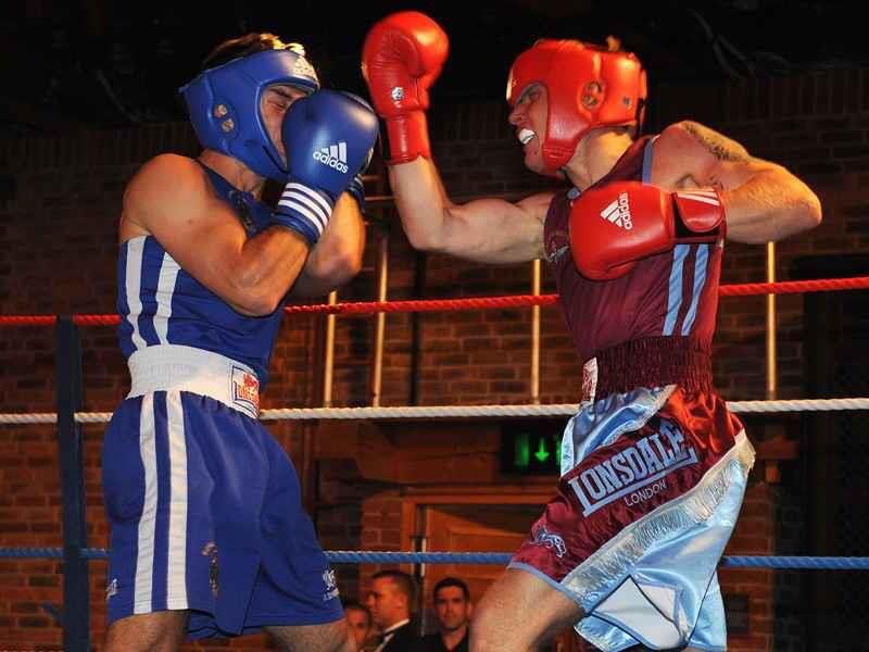 Boxing parachute regiment vs marines Parachute regiment