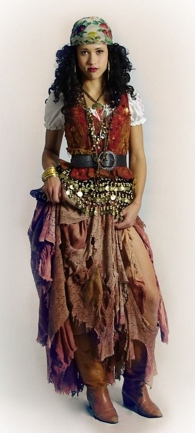 homemade gypsy costume - Google Search  sc 1 st  Pinterest & homemade gypsy costume - Google Search | disfraz | Pinterest | Diy ...