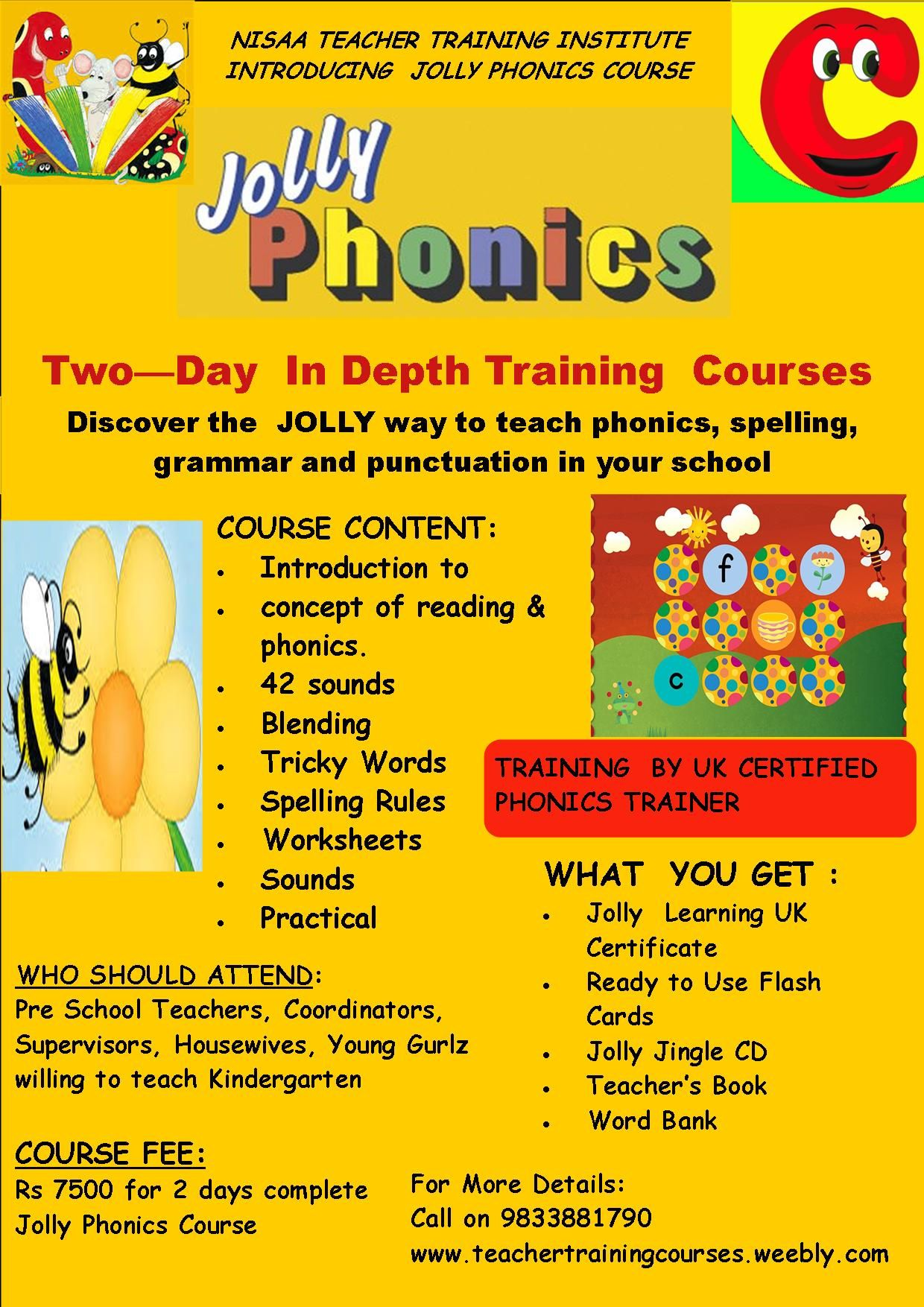 How To Become Jolly Phonics Trainer