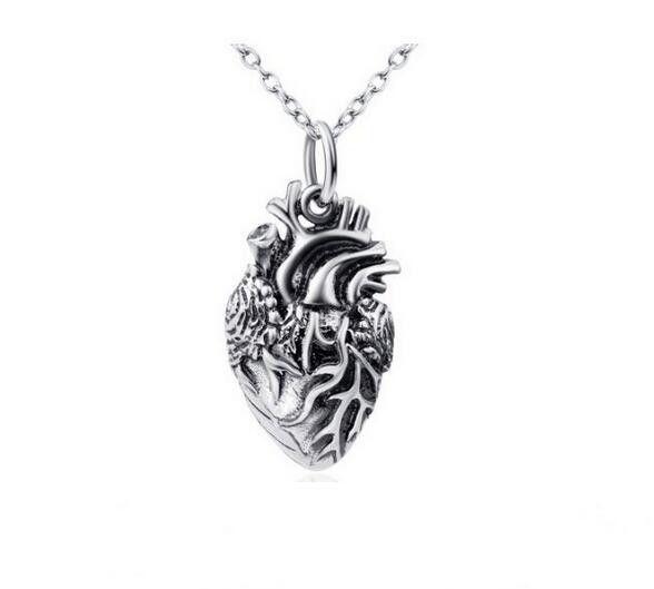 Anatomy Jewelry Anatomical Heart Pendant Necklace | fine jewelry ...
