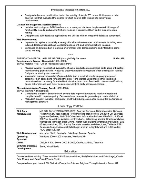 It Trainer Sample Resume Technical Trainer Resume Example