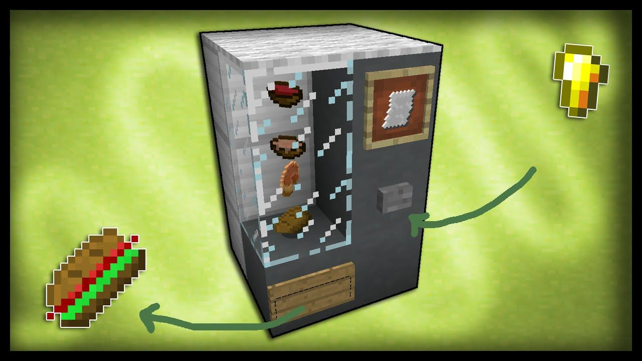 How To Build A Vending Machine In Minecraft Pe
