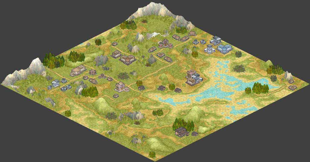 world creator gallery isometric 2d 3d game graphics tiles
