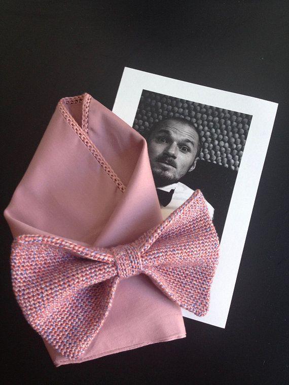Insert Cloth Cotton Old Rose Pink Tuch Einstecktuch Rosa