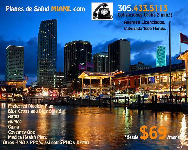 Diferentes Planes de Salud en Miami y Florida..