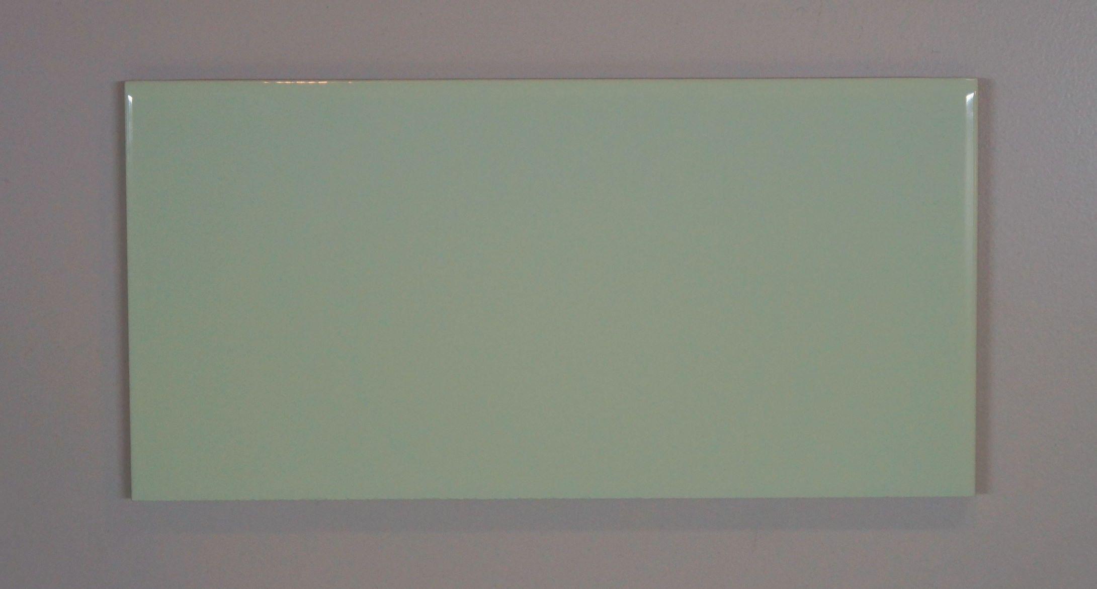 Metrofliese-grün glatt 10x20 | Badideen | Pinterest