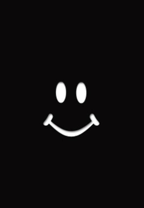 Smiley Wallpaper Minimalist Wallpaper Wallpaper Tablet Wallpaper Black emoji wallpaper hd