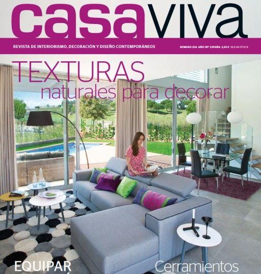 Muebles #Kibuc portada de la revista de #decoración Casa Viva ...