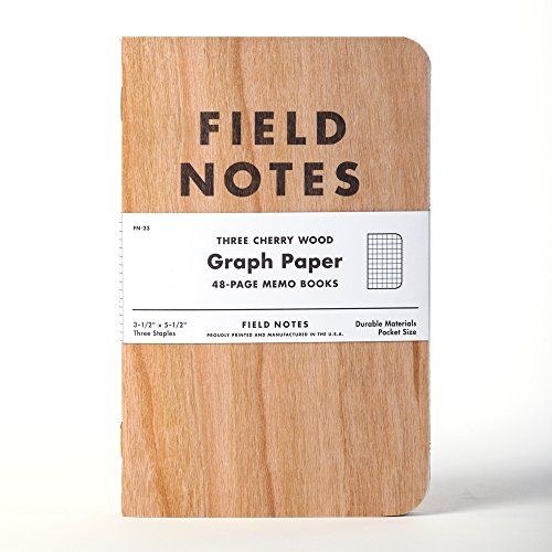 Field Notes Cherry Graph Pack Field Notes HttpWwwAmazonCom