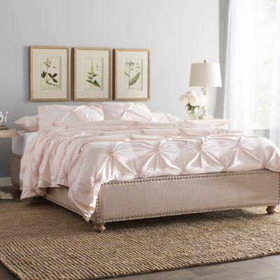 Lark Manor Djibril Upholstered Platform Bed Size Full