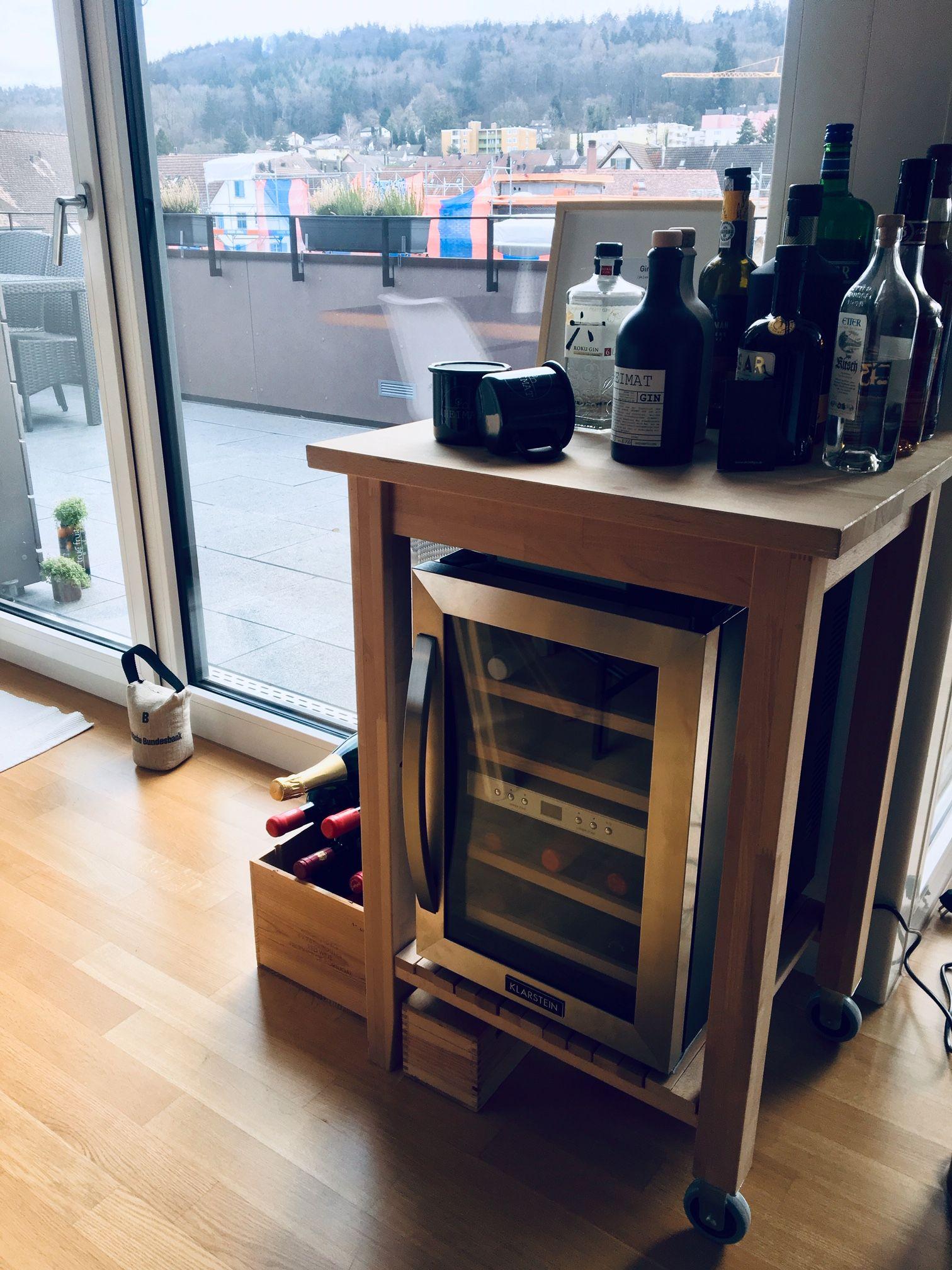 Ikea Hacks Wohnung Esszimmer Wohnung Kuche Weinkuhlschrank