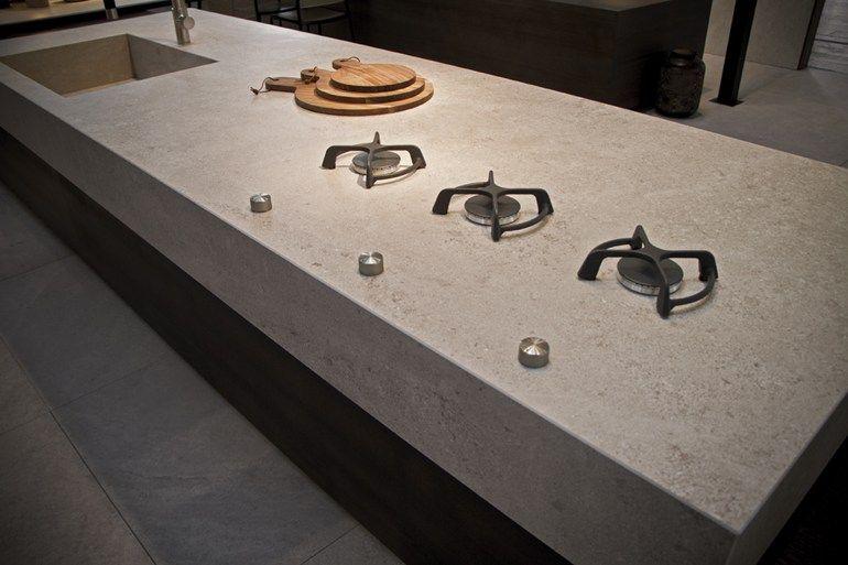 Piano Cucina In Gres Porcellanato Prezzi.Petra Itopker Top Cucina In Gres Porcellanato By Inalco