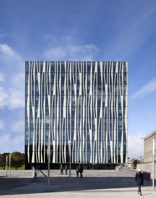 Universidade de Aberdeen New Library / Schmidt Martelo Lassen Architects / © Adam Mørk