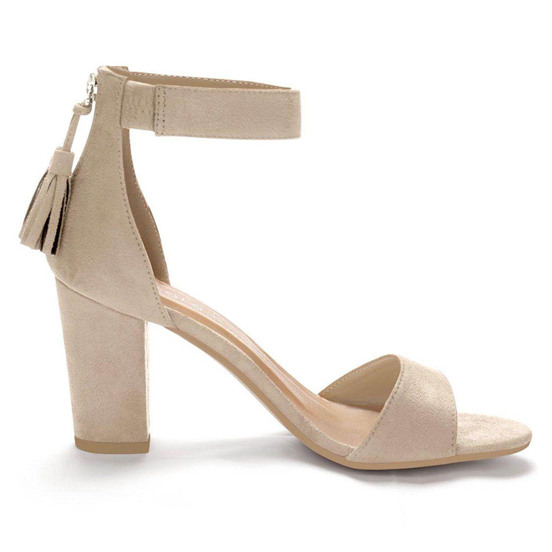 adbf617dd1625 Allegra K Women's Tassel Ankle Strap Sandals * Click on the image ...