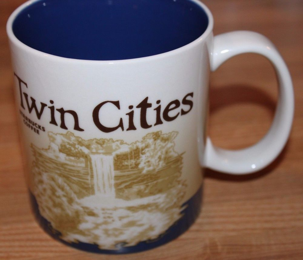 Starbucks Twin Cities Collector Series Mug 2011 New With Tags 16 Fluid Ounce #Starbucks