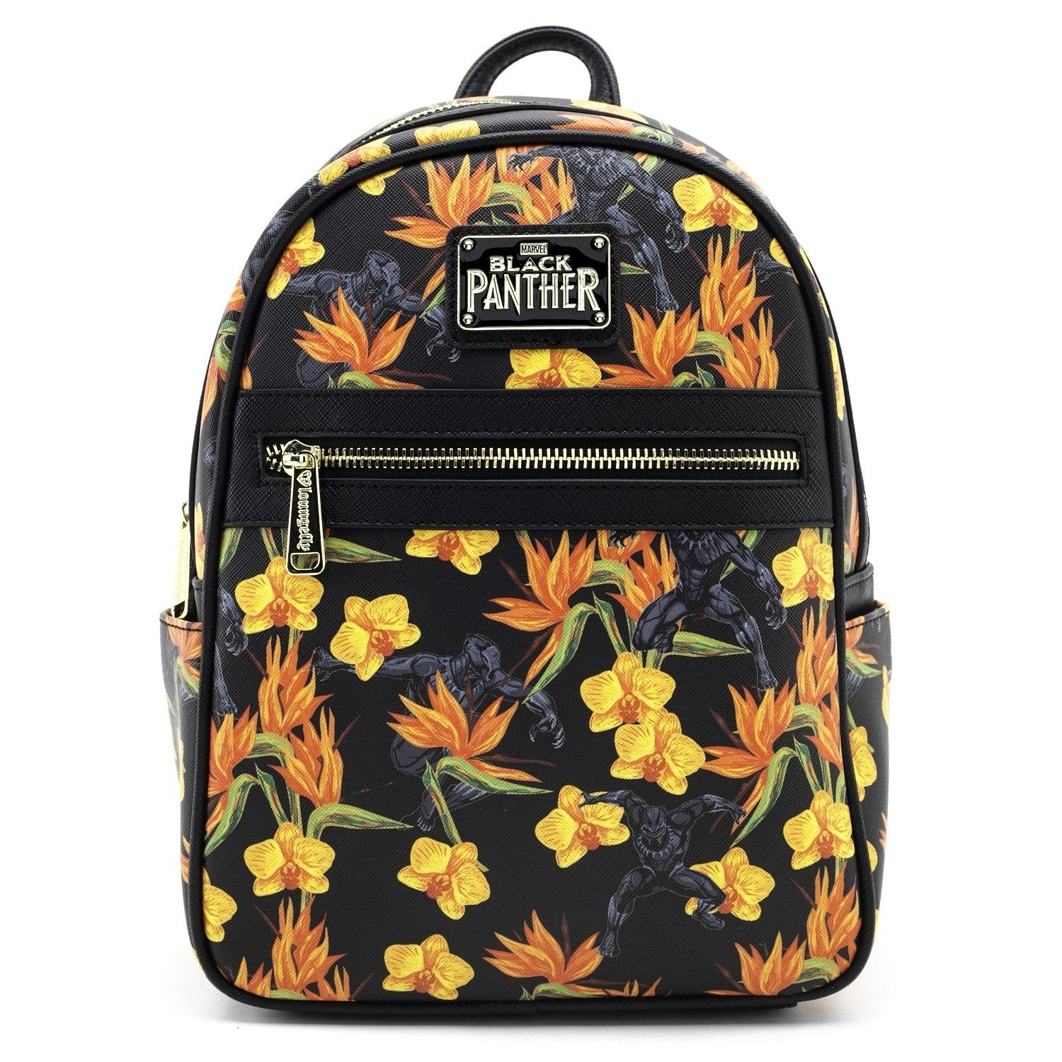 e6b4ab5adca Loungefly x Marvel Black Panther Floral Print Mini Backpack - Backpacks -  Bags