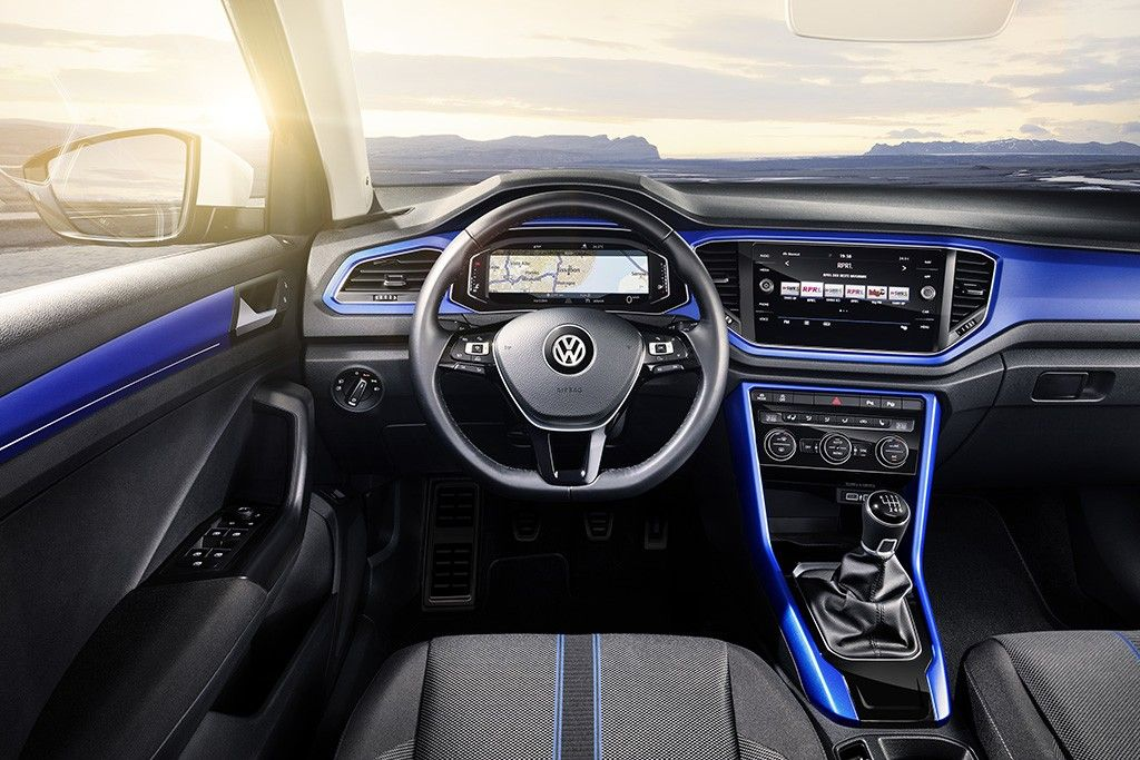 Volkswagen Shrinks And Sharpens Its Suv Lineup With All New T Roc In 2021 Volkswagen Volkswagen Interior Small Suv