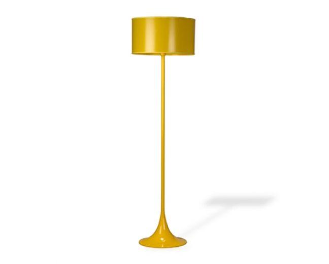 Luminária de Piso Consolação Amarela