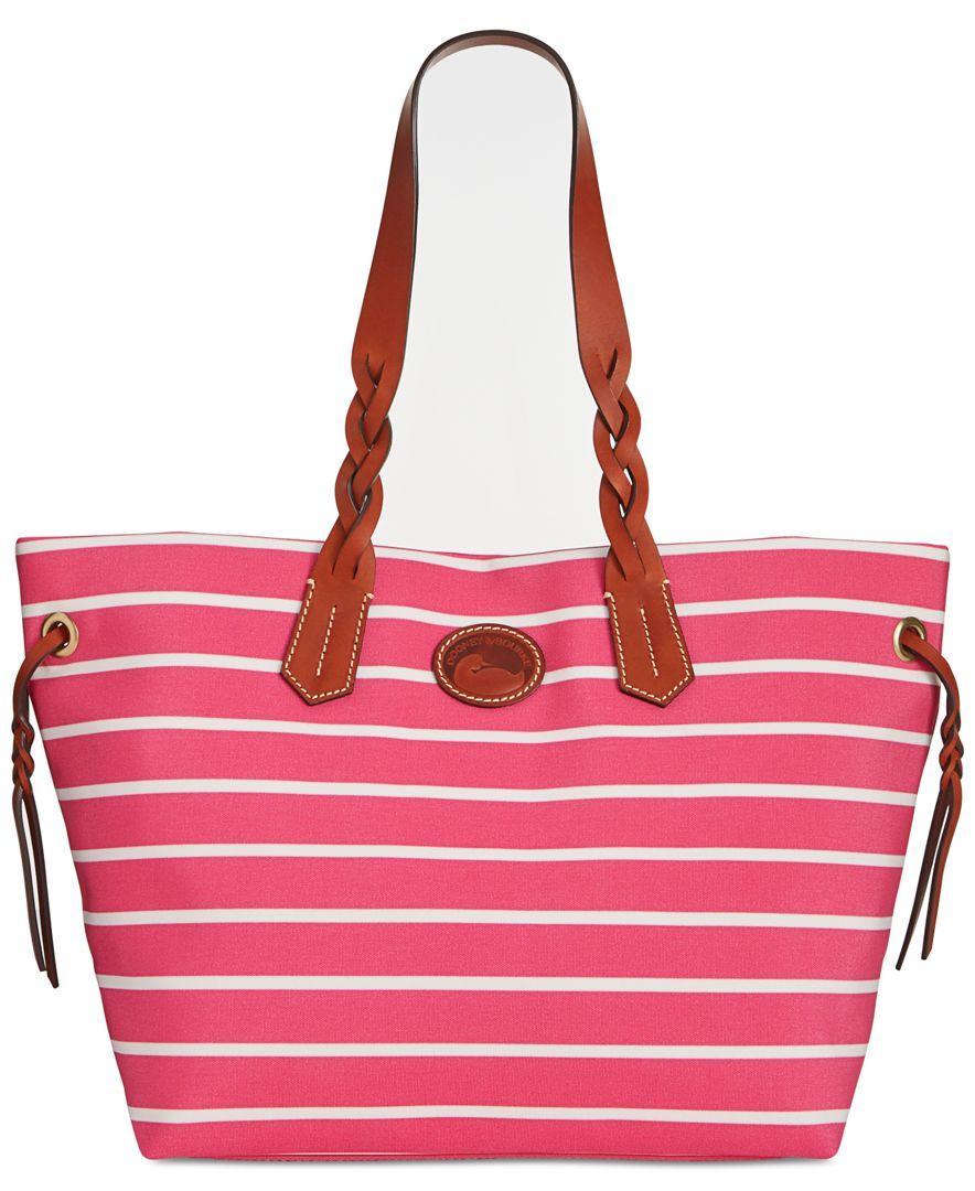 Dooney & Bourke\'s weekend stripe shopper is ready for whatever you ...