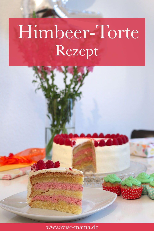 Kuchen Zum 2 Geburtstag Himbeertorte Rezept Himbeertorte Rezept Kuchen Zum 2 Geburtstag Lebensmittel Essen